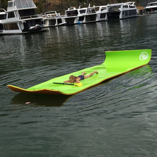 Floating Water mat relaxing