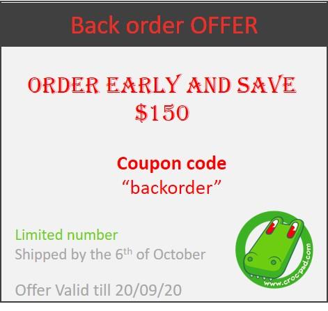 Back order offer