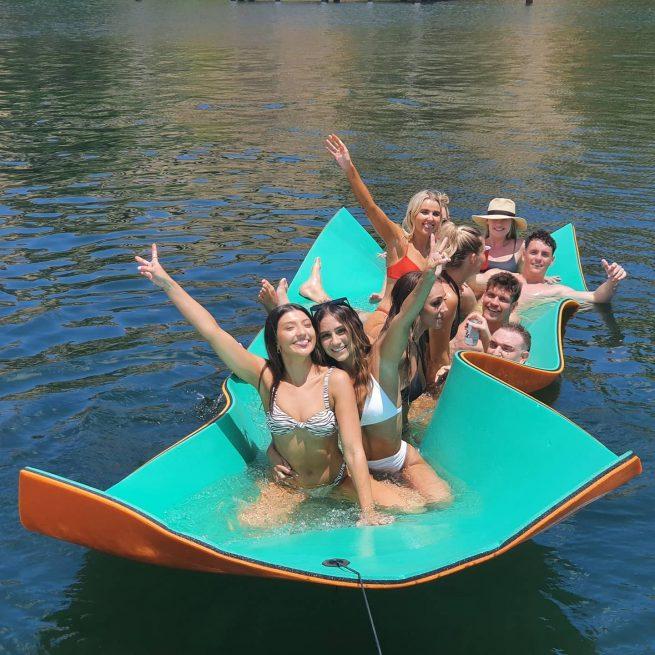 CrocPad Floating Mat at Nautica Charters