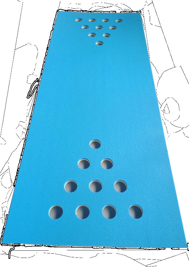 Beer Pong floating mat